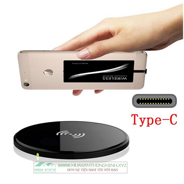 Bo mạch hỗ trợ sạc không dây cho điện thoại có cổng sạc chuẩn Type-C