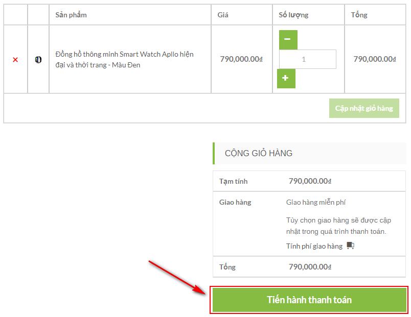 Đặt mua hàng online trên website muasamthongminh.xyz