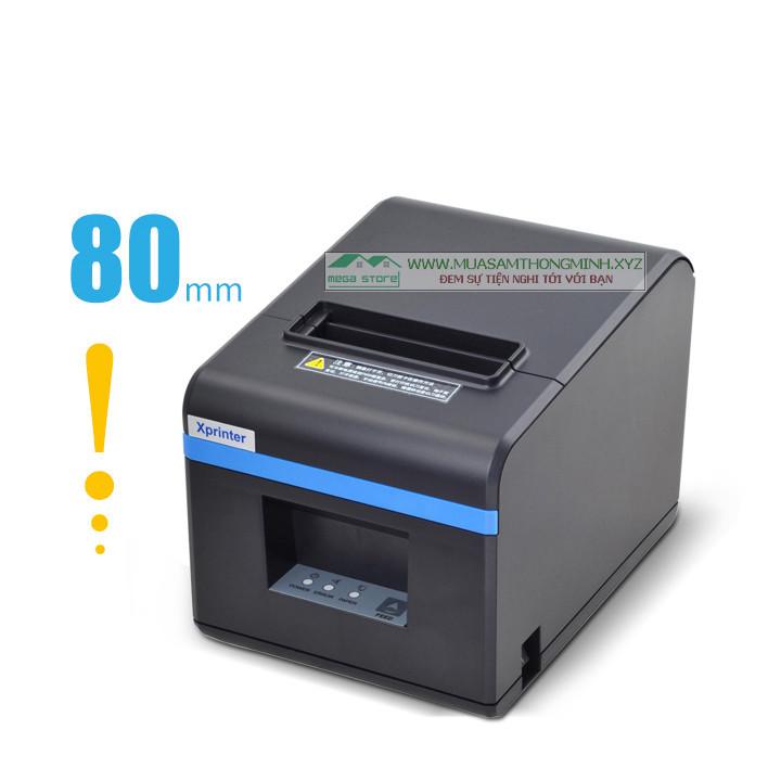 Máy in hóa đơn XPrinter XP-N160II khổ 80mm, in nhiệt - XP-N160II
