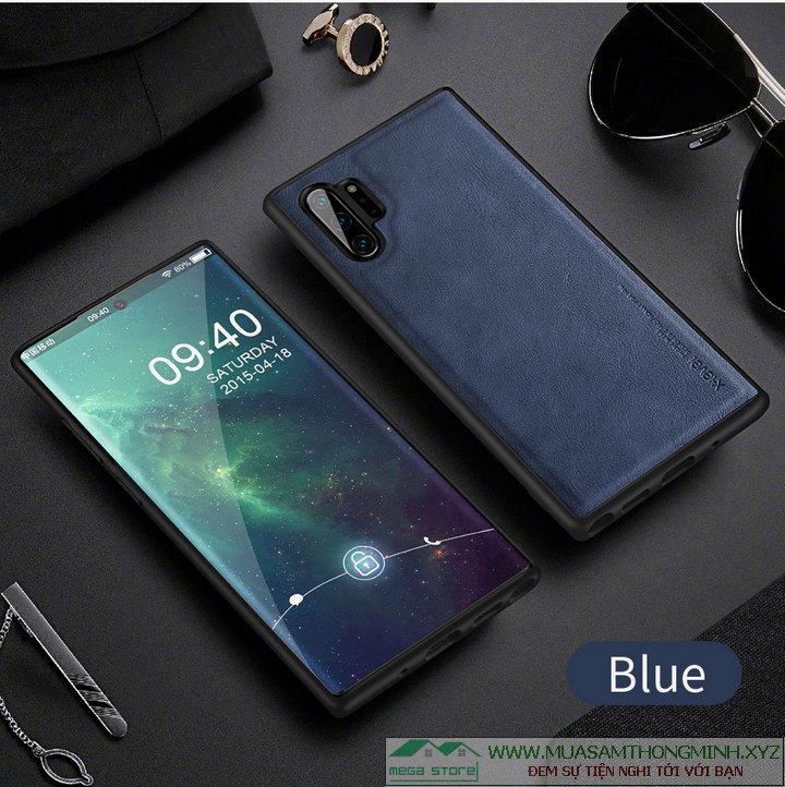 Ốp lưng điện thoại Samsung Note10 và Note 10 Plus da bò cao cấp X-Level