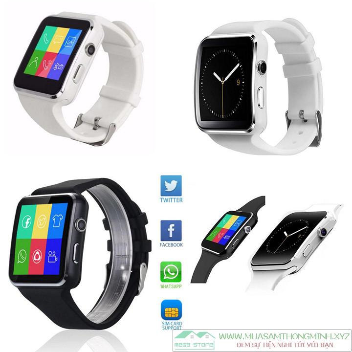Lưu ý khi mua đồng hồ thông minh Smart Watch X6 màn cong hàng nhái, hàng giả kém chất lượng