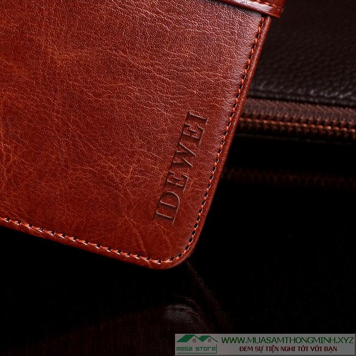 Bao ví da bò Samsung Galaxy Note 10 sang trọng và tiện lợi IDEWE