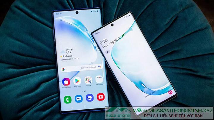Galaxy Note 10 và Galaxy Note 10+ khác nhau như thế nào?