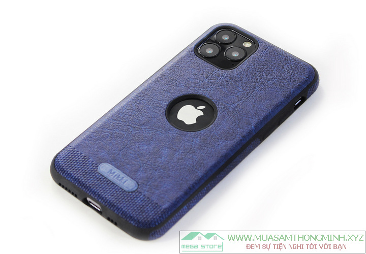 Ốp lưng bảo vệ điện thoại iPhone 11 Pro và Pro Max MIKKI (độ lớn màn hình 5.8 inch và 6.5 inch)