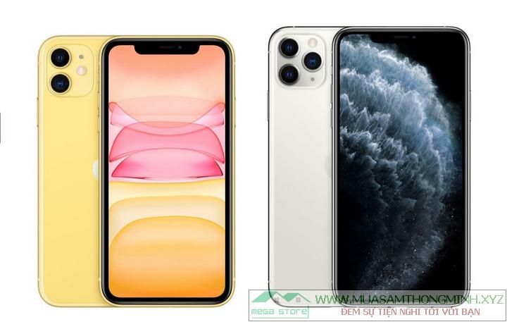 iPhone 11 và iPhone 11 Pro