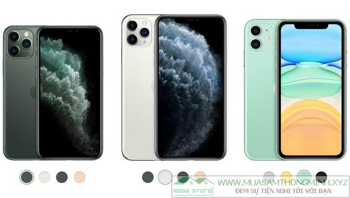 Bộ 3 iPhone mới vừa ra mắt: iPhone 11 Pro, iPhone 11 Pro Max và iPhone 11
