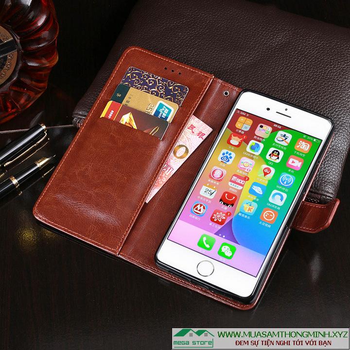 Bao Da Điện Thoại iPhone 7 – 4.7 inch – Da Bò Xịn – Chính Hãng IDEWEI