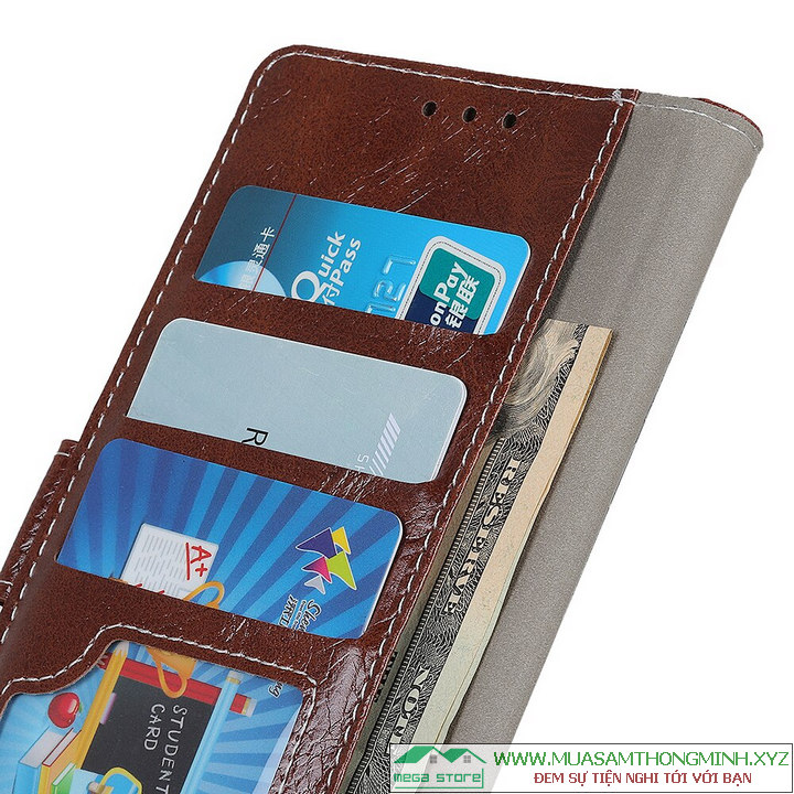 Bao da Samsung Note 10 Plus - Da bò cao cấp, chính hãng Crazy Horse