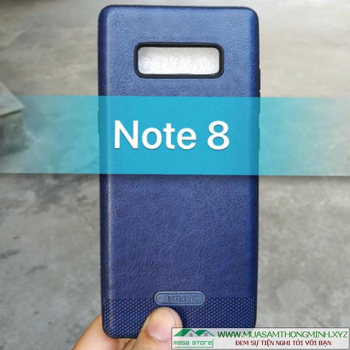 Ốp lưng da Samsung Galaxy Note 8 - Bảo vệ hoàn hảo, Sang trọng và Lịch sự - Chính Hãng Mikki