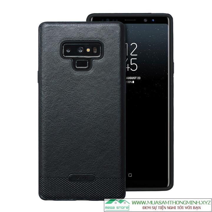 Ốp lưng da Samsung Galaxy Note 9 - Bảo vệ hoàn hảo, Sang trọng và Lịch sự - Chính Hãng Mikki