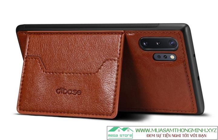 Ốp da Samsung Note 10 Pro - Chính hãng Dibase