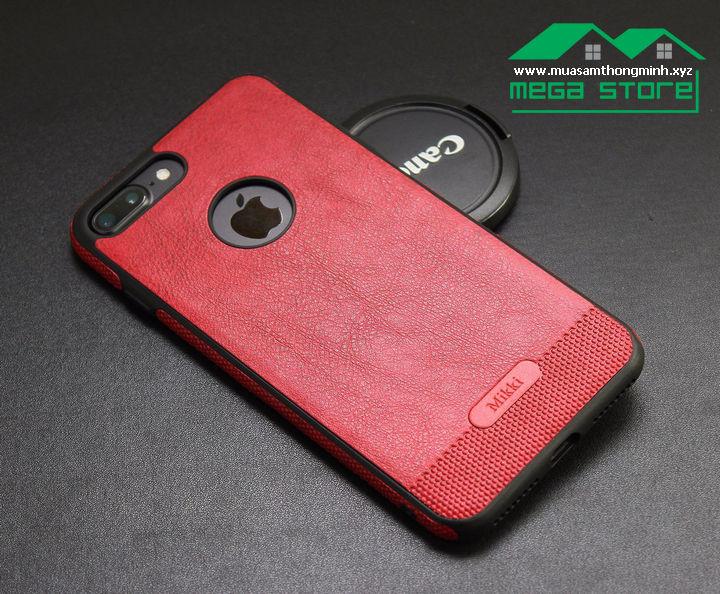 Ốp Lưng iPhone 7 & iPhone 7 Plus – Da Bò Xịn - Nhập Khẩu Chính Hãng Mikki