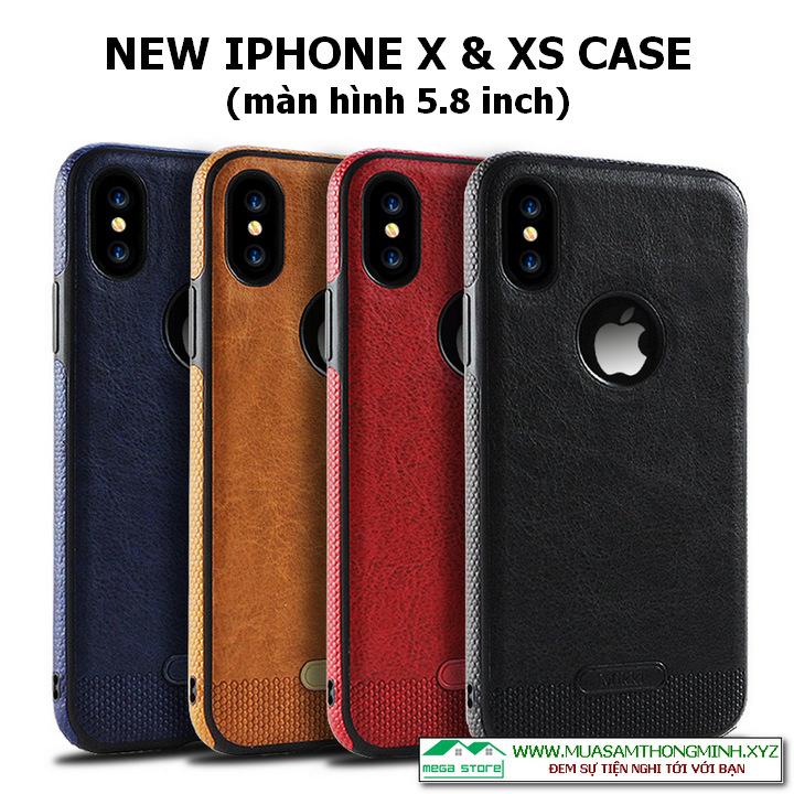 Ốp lưng IPhone X và IPhone XS - 5.8 inch - Nhập khẩu chính hãng Mikki