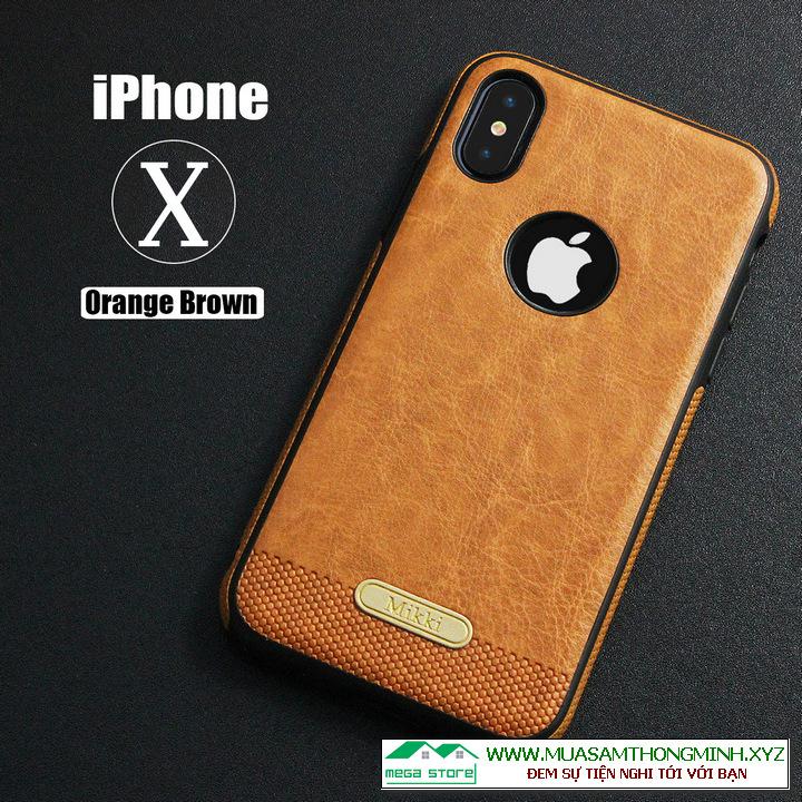 Ốp lưng IPhone X và IPhone XS - Nhập khẩu chính hãng Mikki