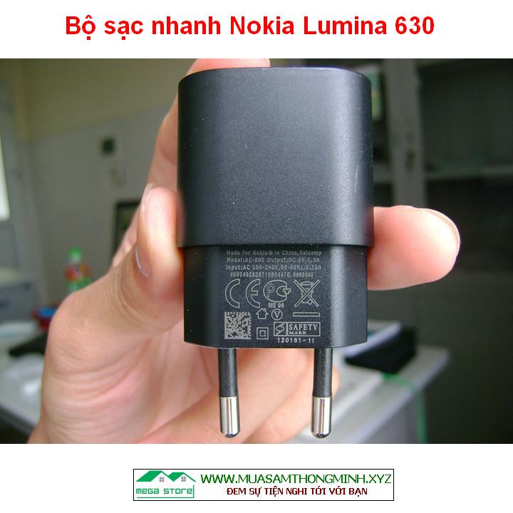 Bộ Củ sạc nhanh Nokia Lumina 630 - Bộ sạc Lumina 630 Chính Hãng NOKIA