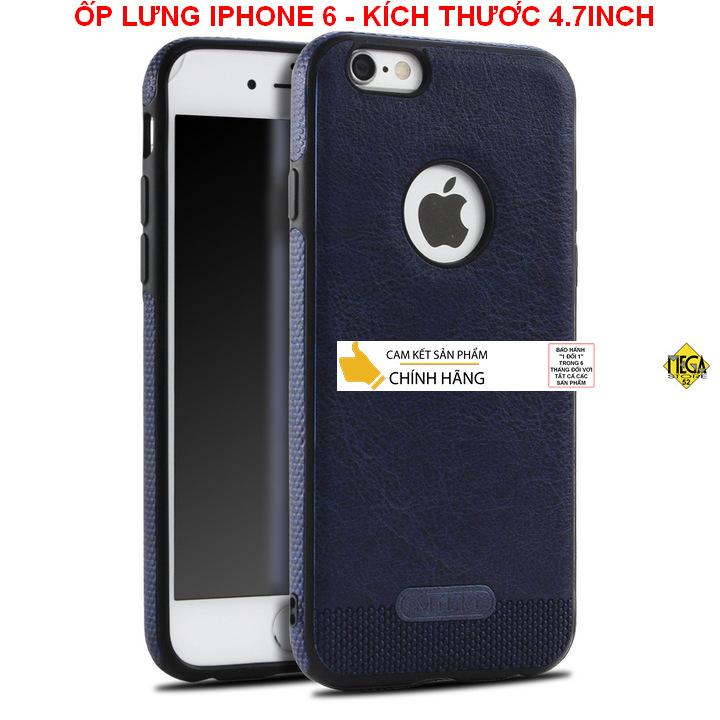 Ốp lưng iPhone 6/6S - Kích thước 4.7inch – Bảo Vệ Hoàn Hảo, Sang Trọng Và Lịch Sự – Chính Hãng Mikki