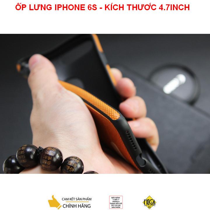 Ốp lưng iPhone 6/6S – Kích thước 4.7inch – Bảo Vệ Hoàn Hảo, Sang Trọng Và Lịch Sự – Chính Hãng Mikki