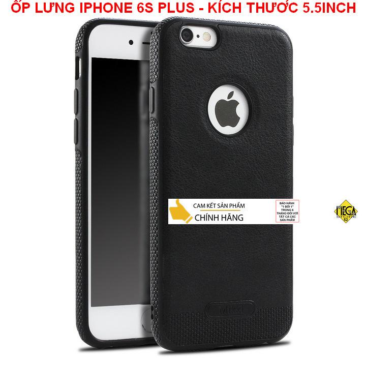 Ốp lưng iPhone 6 Plus/6S Plus - Kích thước 5.5inch – Bảo Vệ Hoàn Hảo, Sang Trọng Và Lịch Sự – Chính Hãng Mikki
