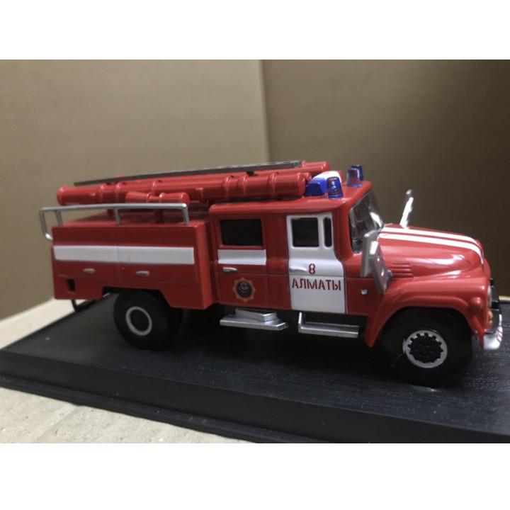 Mô hình xe cứu hỏa liên Xô bằng kim loại - ZIL 130 1964 1:57