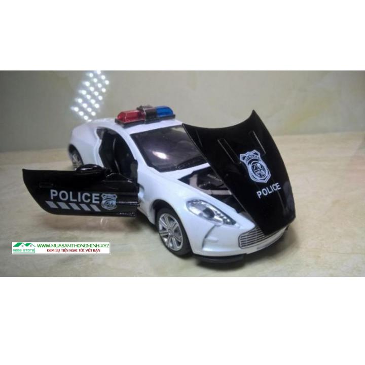 MÔ HÌNH XE Ô TÔ Aston martin Cảnh sát 1:32 - XE 132 POLI AS
