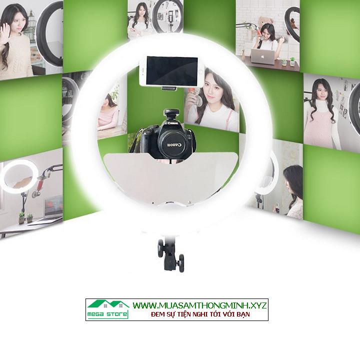 Bộ Đèn Led chuyên dụng Livestream Cao Cấp, Trang Điểm Make Up, Chụp Ảnh Studio, Phun Săm