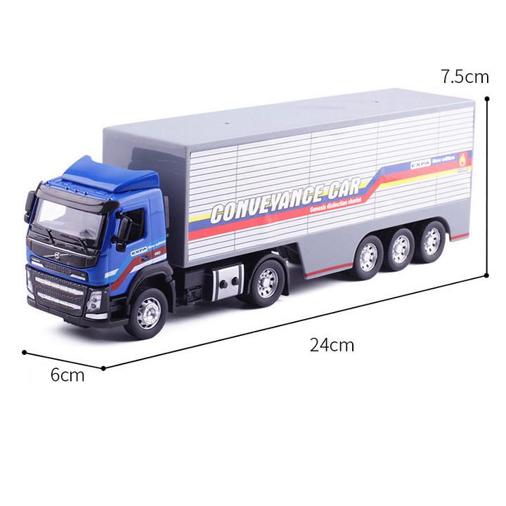 Xe đầu kéo Container mô hình bằng kim loại siêu bền