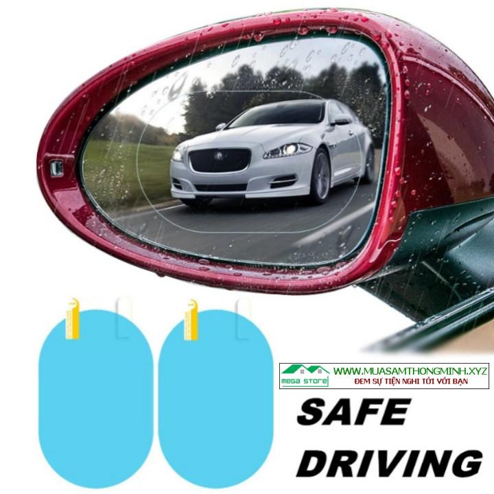 Miếng dán chống nước cho gương chiếu hậu và kính cửa xe ô tô