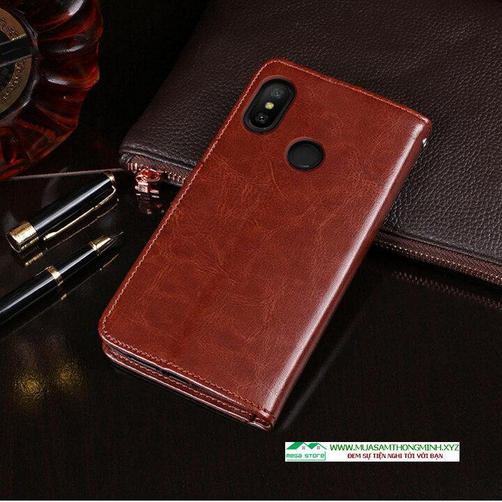 Bao Da Xiaomi Redmi 6 Pro – Sang Trọng Và Tiện Lợi – Chính Hãng IDEWEI