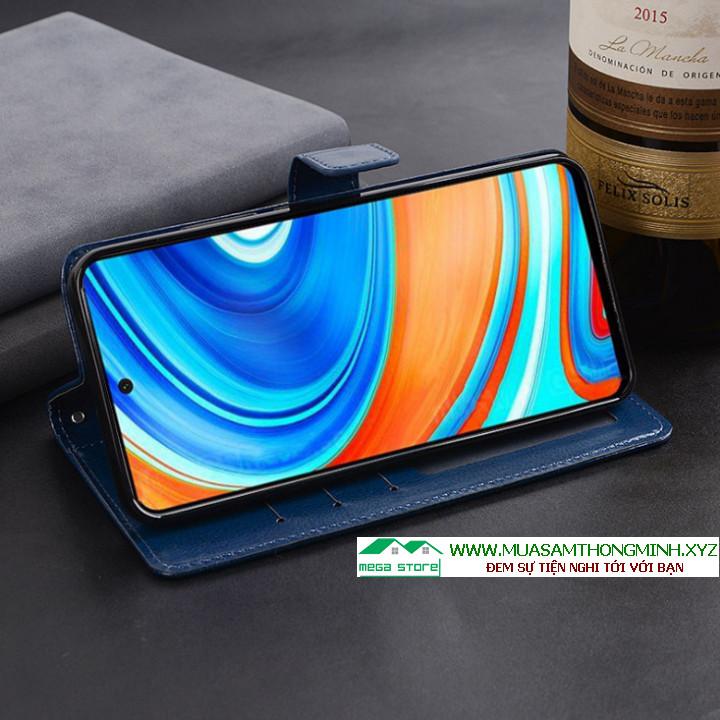 Bao da Xiaomi Redmi Note 9 Pro - Sang trọng và tiện lợi - Chính Hãng IDEWEI