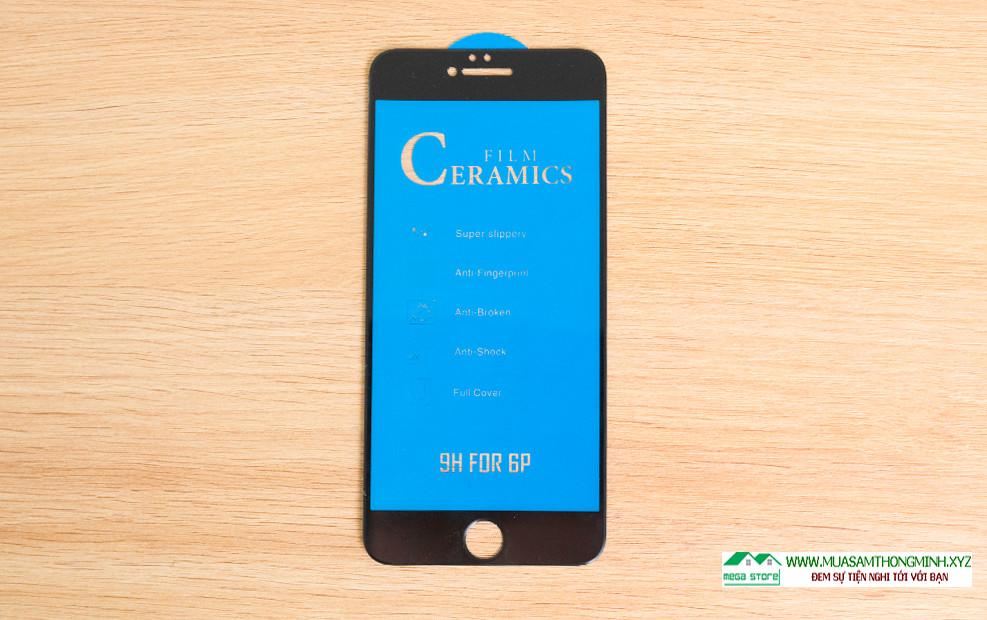 Kính cường lực điện thoại Ceramic độ cứng chịu lực H9