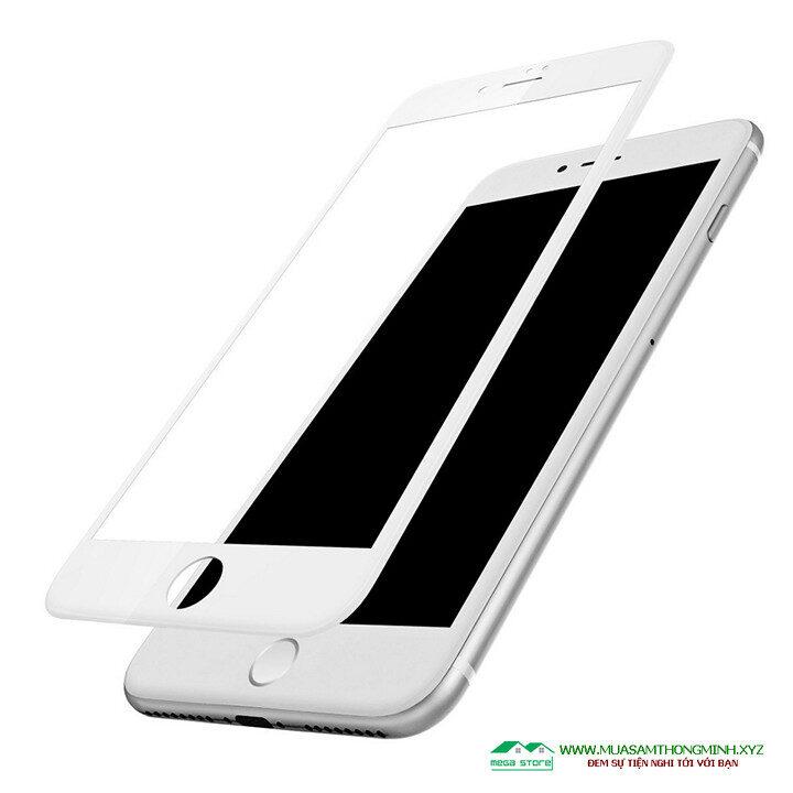 Kính cường lực iPhone 6, 6S, 6 Plus, iPhone 7, 7 Plus, iPhone 8, 8 Plus độ cứng H9