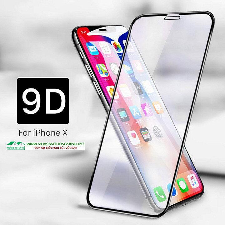 Kính cường lực iPhone X, iPhone Xr, iPhone Xs, iPhone Xs Max 9D độ cứng H9
