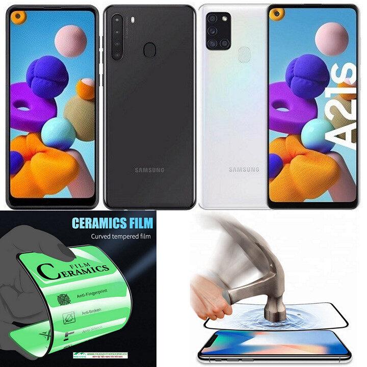 Kính cường lực Samsung Galaxy A21, Samsung Galaxy A21s độ cứng H9