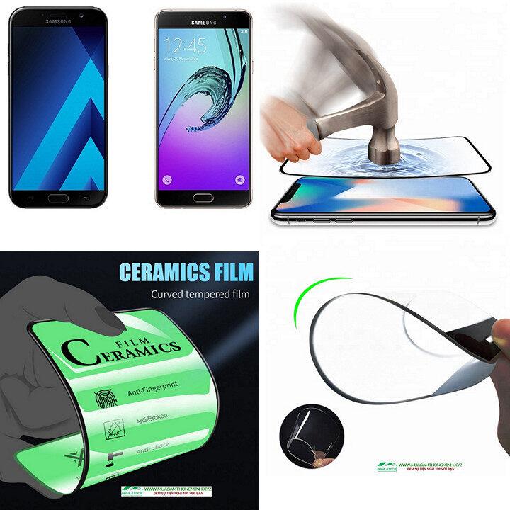 Kính cường lực Samsung Galaxy A7 (2017) và Samsung Galaxy A7 (2020) độ cứng H9