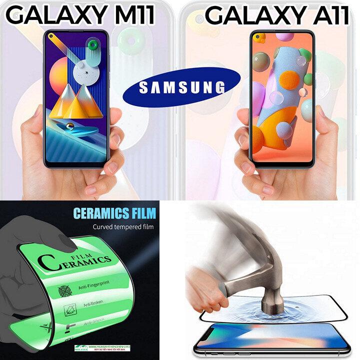 Kính cường lực Samsung Galaxy M11 và Samsung Galaxy A11 độ cứng H9