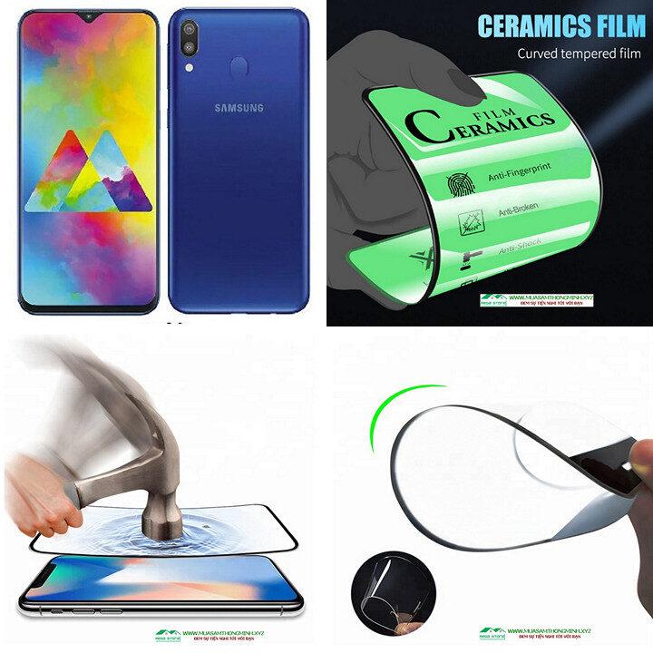 Kính cường lực Samsung Galaxy M20 độ cứng H9