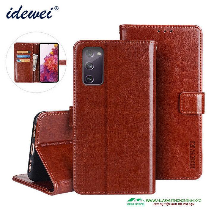 Bao da điện thoại Samsung M01 Core và Samsung A01 Core - Chính Hãng IDEWEI