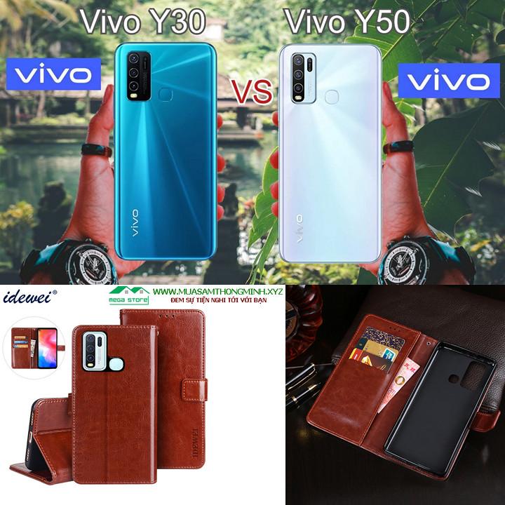 BBao Da Vivo Y30 và Vivo Y50 – Sang Trọng Và Tiện Lợi – Chính Hãng IDEWEI