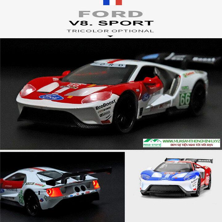 Mô hình xe Ford V8 phiên bản xe đua bằng kim loại - Tỷ lệ 1:32