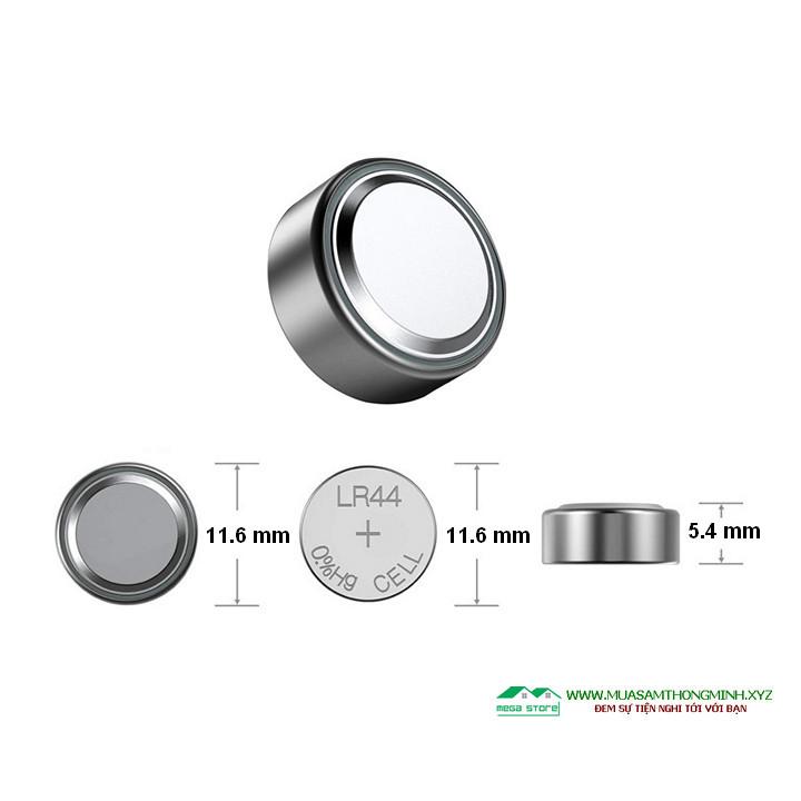 Pin nút áo AG13 / LR44 sử dụng cho đồ chơi và các thiết bị điện tử khác