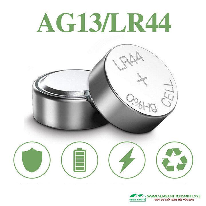 Pin cúc áo LR44 sử dụng cho đồ chơi và các thiết bị điện tử khác - 1 vỉ 10 viên